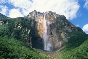 Venezuela Angel Falls, the World's Tallest Waterfall by Adrian Warren