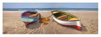 Barche sulla battigia