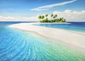 Isola tropicale by Adriano Galasso