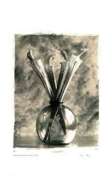 Flower Vase II by Adriene Veninger