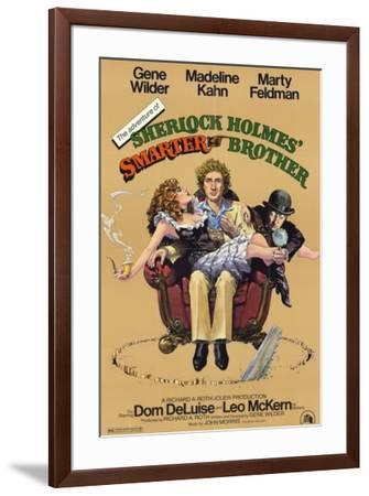 Adventure of Sherlock Holmes Smarter Brother--Framed Poster