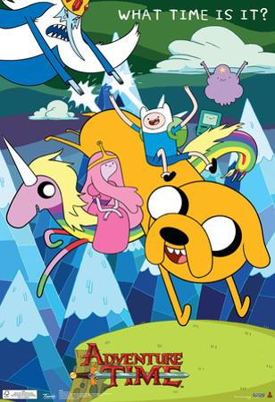 Adventure Time What Time Is It? Television Poster