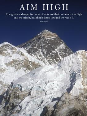 Aim High - Mt Everest Summit by AdventureArt