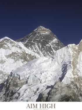 Aim High - Mt Everest by AdventureArt