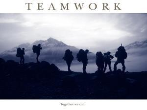 Teamwork - Together we can by AdventureArt