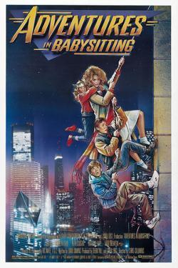 ADVENTURES IN BABYSITTING [1987], directed by CHRIS COLUMBUS.