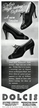 Advert for Dolcis Shoes 1936