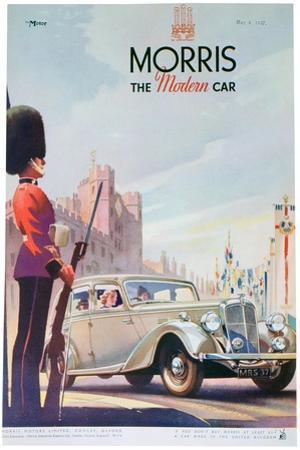 Advert for Morris Motor Cars, 1937