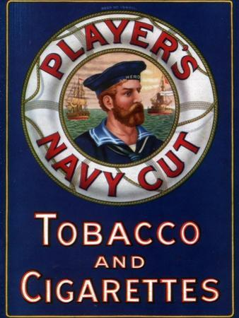 Advert for Player's Navy Cut Tobacco and Cigarettes, 1923