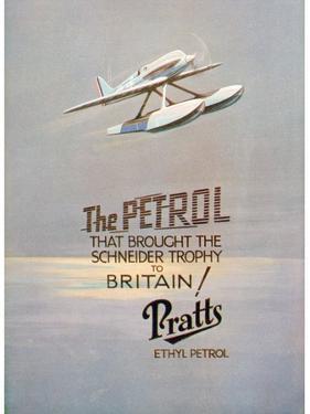 Advert for Pratts Ethyl Petrol, C1928