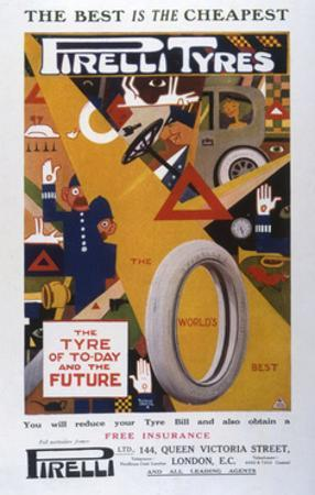 Advert, Pirelli Tyres
