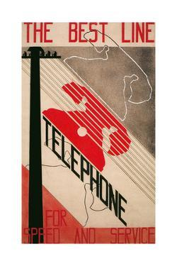 Advertisement for Best Line Telephone