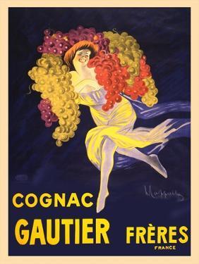 Advertisement for Cognac Gautier Freres