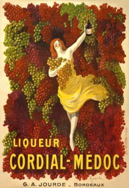 Advertisement for Liqueur Cordial-Medoc