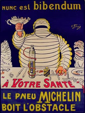 Advertisement for Michelin, Printed by Cornille and Serre, Paris