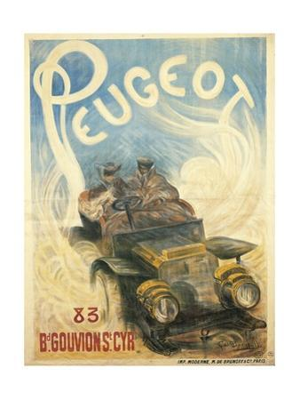 Advertisement for Peugeot Cars, 1896