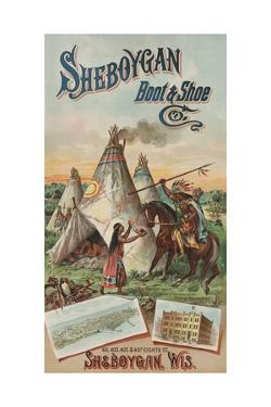 Advertisement for Sheboygan Boot and Shoe Company