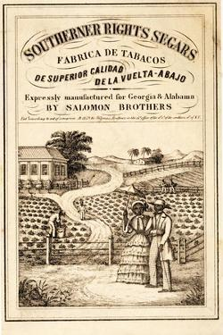 Advertisement for Southerner Rights Segars, Pub. C.1859