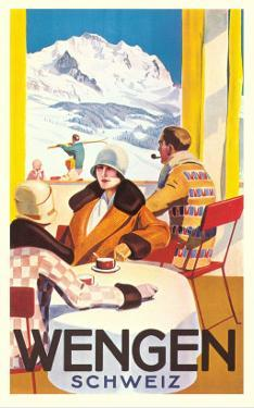Advertisement for Swiss Ski Resort