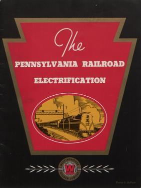 Advertisement for the Pennsylvania Railroad Electrification, C.1936