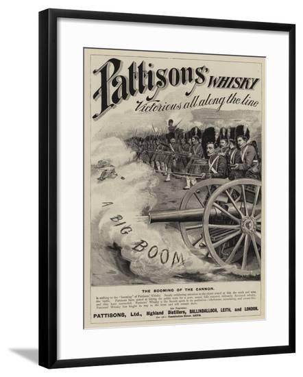 Advertisement, Pattisons' Whisky--Framed Giclee Print