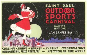 Advertisement, St. Paul Carnival, Minnesota