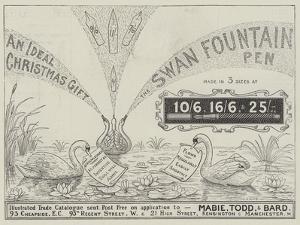 Advertisement, Swan Fountain Pen