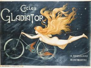 Advertising Poster for Gladiator Bicycles