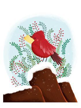 Christmas Bird by Advocate Art