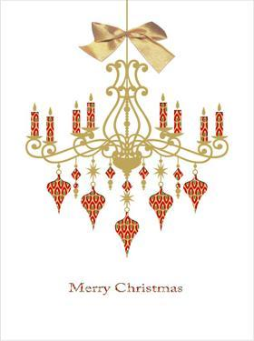 Christmas Chandelier by Advocate Art