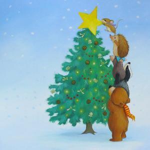 Christmas Tree Star by Advocate Art