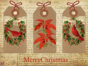 Chritmas Gift Tags by Advocate Art