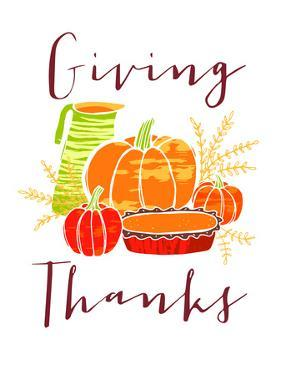 Giving Thanks by Advocate Art