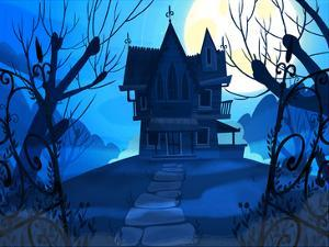 Haunted House by Advocate Art