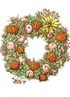 Holiday Wreath by Advocate Art