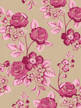 Pink Floral by Advocate Art