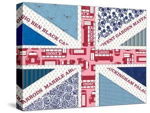 Uk Flag by Advocate Art