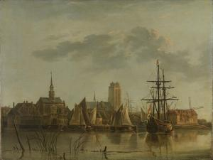 Dordrecht at Sunset by Aelbert Cuyp