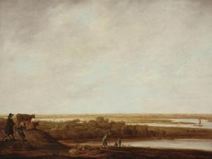 Panoramic Landscape with Shepherds, 1640-45 by Aelbert Cuyp