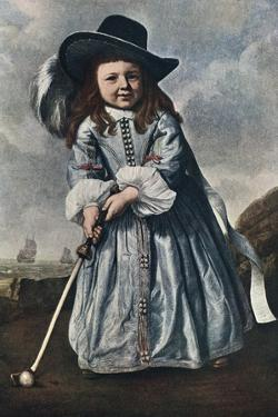 The Girl Golfer, C1650 by Aelbert Cuyp