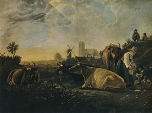 'The Large Dort', c1650 by Aelbert Cuyp