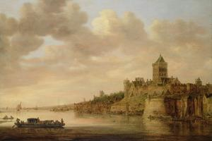 The Valkhof at Nijmegen, 1650 by Aelbert Cuyp