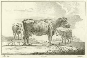 Three Cows by Aelbert Cuyp