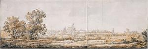 View of Arnhem from the South, C. 1645 by Aelbert Cuyp