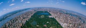 Aerial Central Park Manhattan New York City New York, USA
