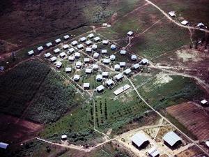 Aerial Photo of Jonestown, Guyana
