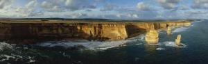Aerial, Twelve Apostles, Victoria, Australia