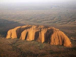 Aerial Uluru, Ayers Rock
