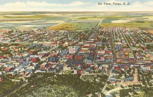 Aerial View, Fargo, North Dakota
