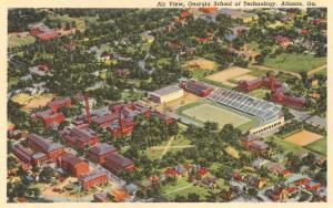 Aerial View, Georgia Tech, Atlanta, Georgia